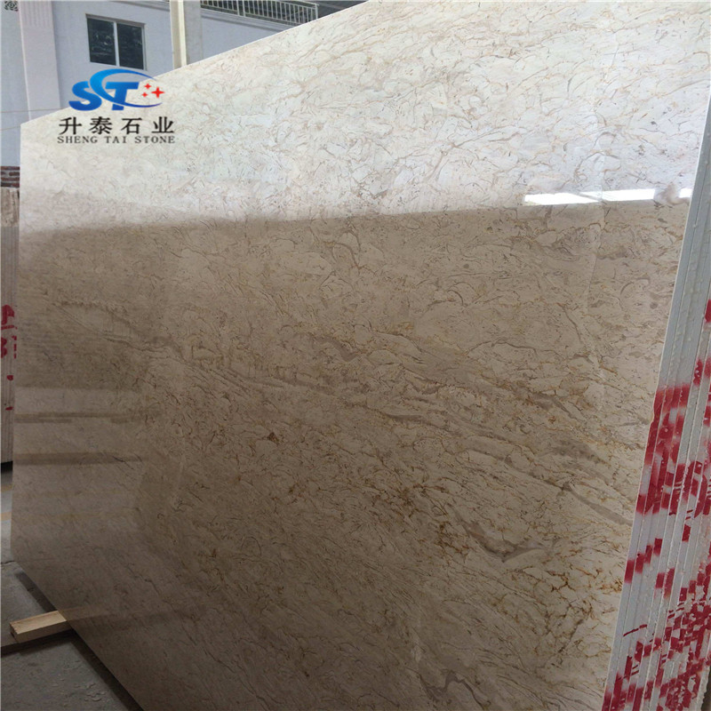 hot sell Oman cream-colored marble flooring price marble buyers raw marble blocks