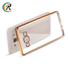 Mobile for samsung j7 2016 mobile back cover for Samsung Galaxy A3 Electroplating tpu crystal colourful cellphone cover shell