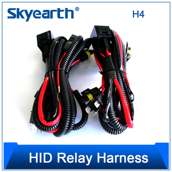 Wondrous 12V 35W Wiring Harness Controller Hid H4 8000K Headlight With Fast Wiring Cloud Hisonuggs Outletorg