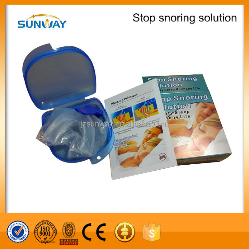 Anti Snore stopper, Mouth tray