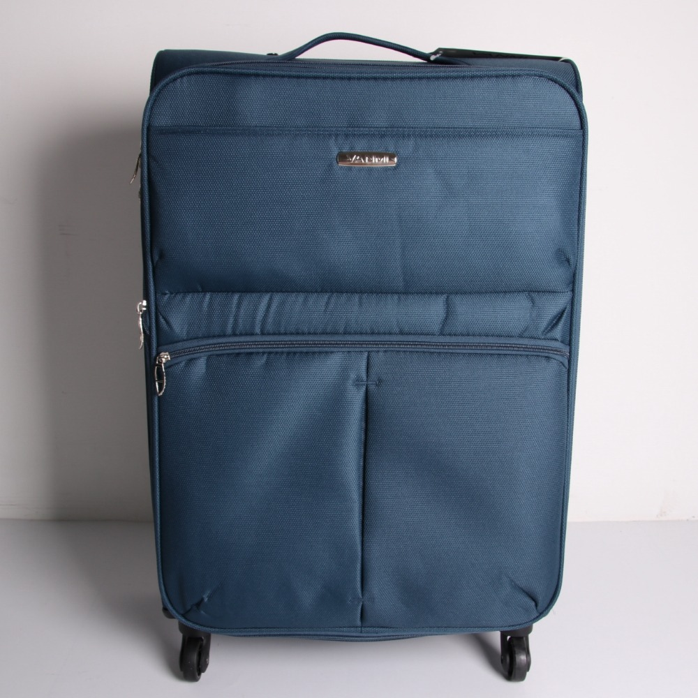 Ready for shipment 600D polyester 3pcs trolley lugagge set stock expandable suitcase 20 24 28inch travel case