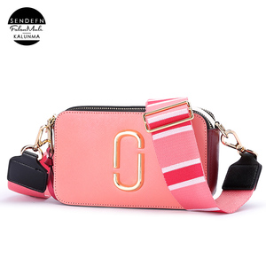 customized high quality genuine leather shoulder bag women