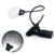2 Led 5X Magnifier Clip-On handheld magnifying glass with led light