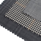 Plaid Super 120 Worsted Suit Merino 100% Wool Fabric
