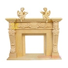 Fireplace Electric Insert Natural Stone French Style Marble Fireplace Mantel Mantels White Electric Insert Fire Place