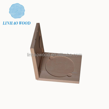 Customized Wooden CD DVD Storage Box