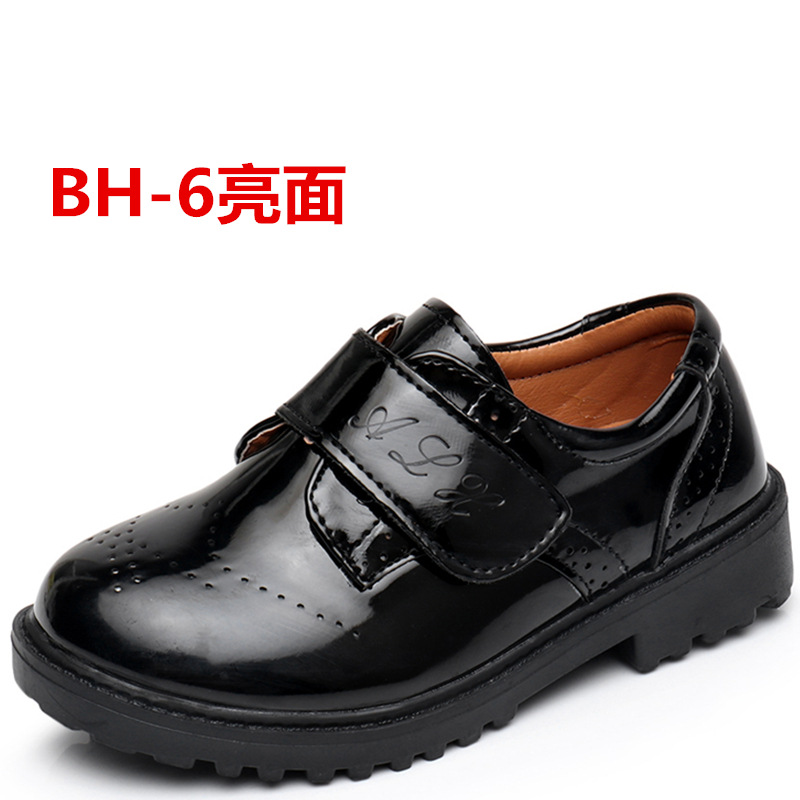 GUGUTREE 26-42# boys school shoes pu casual students school shoes
