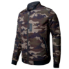 Zuoxiner 100% Polyester Full Zip Military Camo Camouflage Men's Jacket With Two Side Zipper