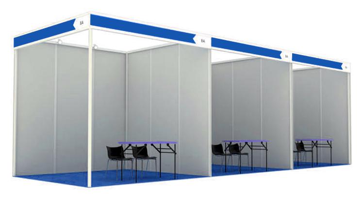Aluminium Modular Exhibition Stands : Aluminum shell scheme display modular exhibition stands