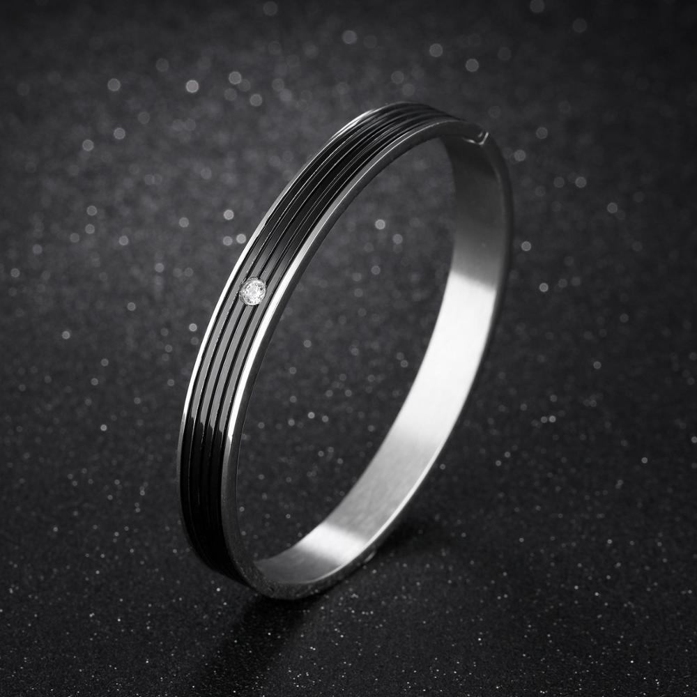 Jewelry Manufacturer Custom Men Women Stainless Steel Couple Bracelet Love