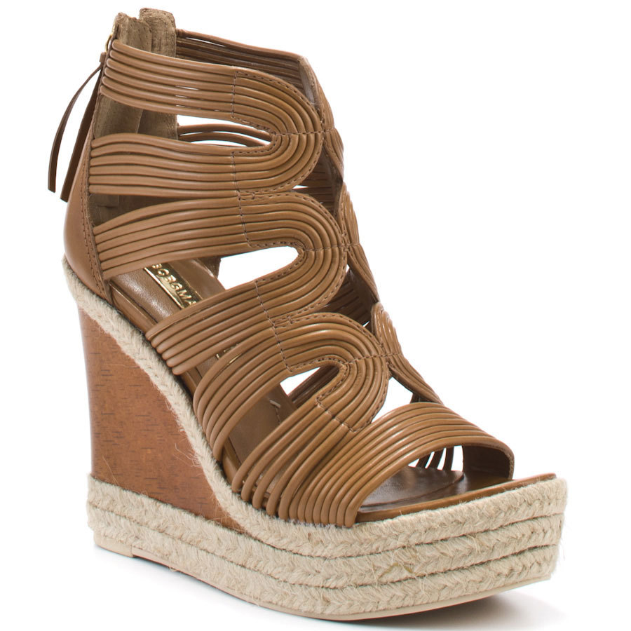 Brown Wedges Sandal For Women Rope Heels Summer Style Shoes Women Platform Thick High Heel Ankle High Open Toe Made-to-order