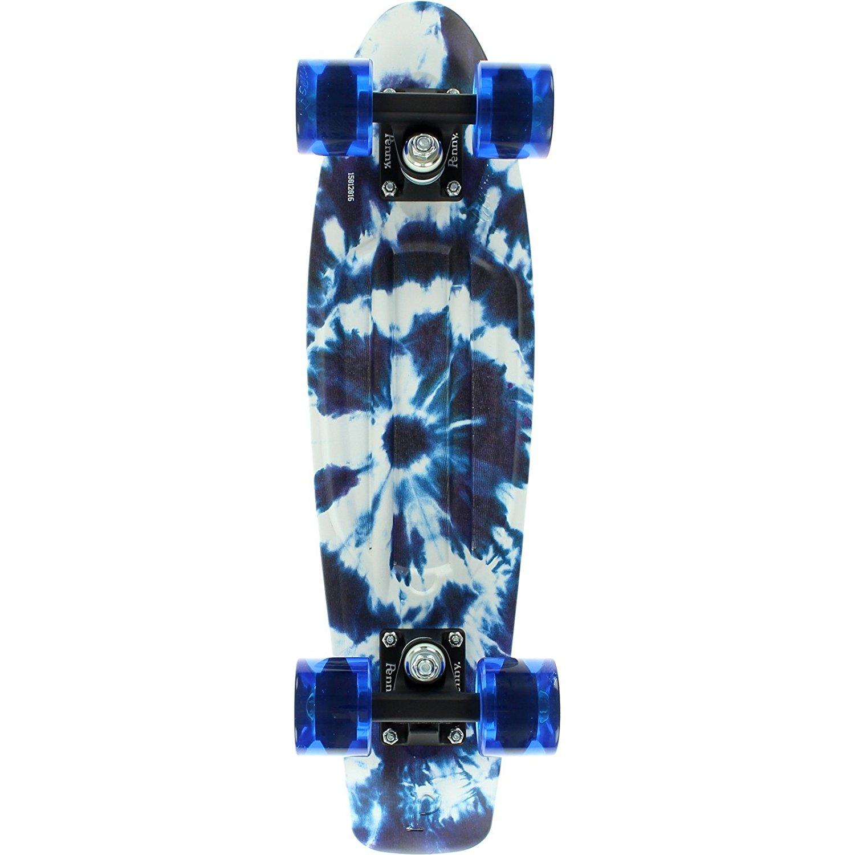 "Penny 22"" Complete Skateboard Indigo Tie Dye"