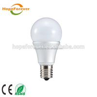 CRI80 3w 5w 7w 9w 12w e27/e14 base led bulb led lighting form Hopeforever brand company