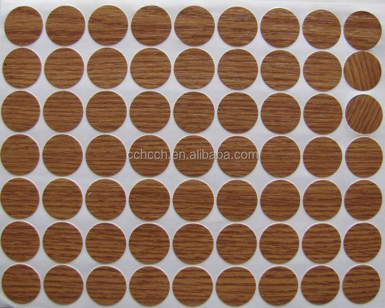 Screw Pvc Cover Decorative Stickers,Bolt Circle Plastic Cover For ...