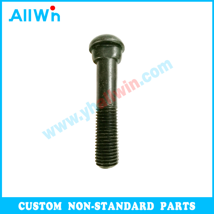 carbon steel guardrail ball head customized bolt