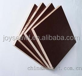 Construction materials Film faced plywood for Concrete Form use