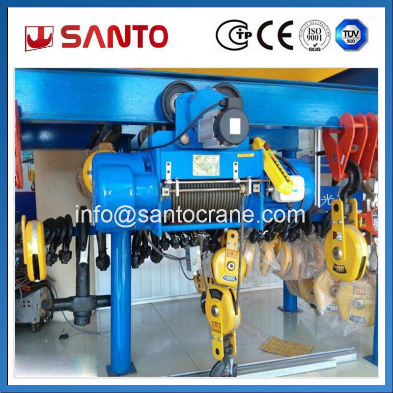33 Years Manufacturing Experience Industry Lifting Equipment Electric Wire Rope Hoist Price