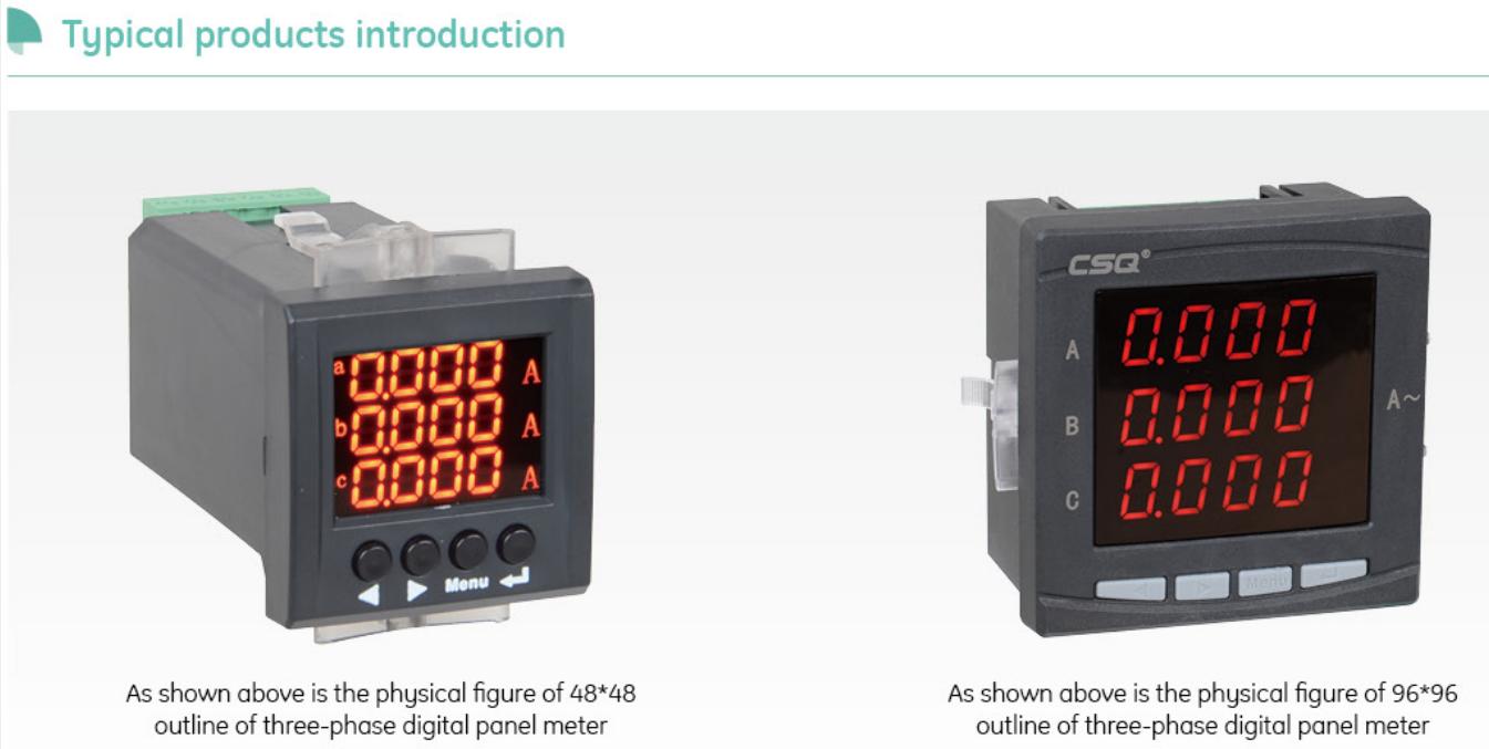PS652Q-9X3 AC 220V CE/CB Smart Contatore di Energia Digitale con LED mini diversi tipi di misuratore di produttore