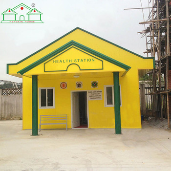 ISO 9001 sandwich panel steel structure prefab smart house