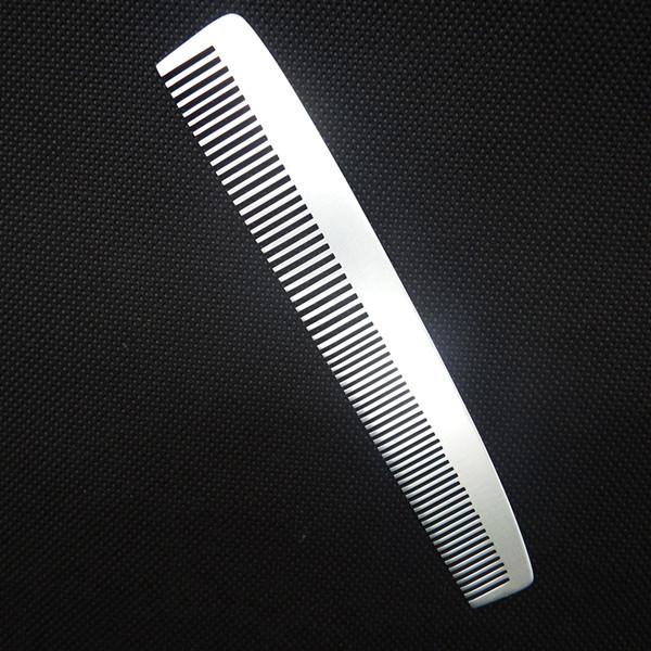 mens magic hair comb    metal beard comb    aluminum comb
