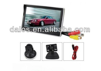3.5 Inch Car tft lcd monitor with High definition ,OSD menu ,PAL&NTSC Auto-switching,Sunshade design ,Speaker,Multi Language