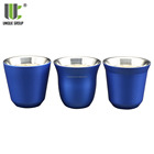 Wholesale 3oz Mini Stainless Steel Insulated Espresso Cup Set