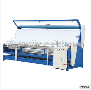 Full automatical fabric rolling machine,fabric speading machine, inspect  and measuring machine