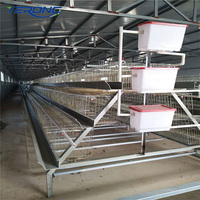 Galvanized Design Layer Chicken Cage For Poultry Farm