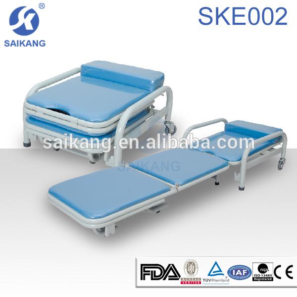 ske001 accompany hospital foldable sleeping chair