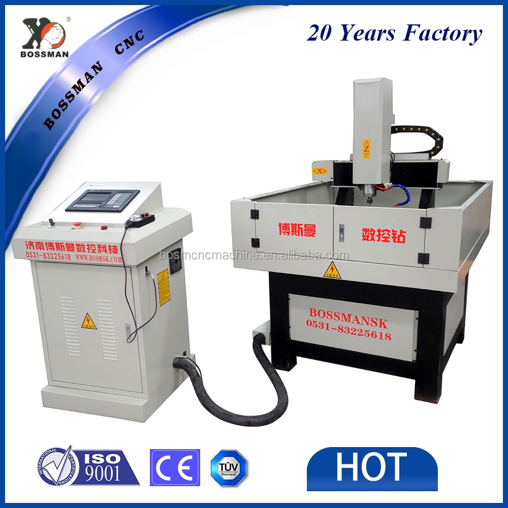 Bossman multi function CNC drilling and carving machine for metal ,steel,stone