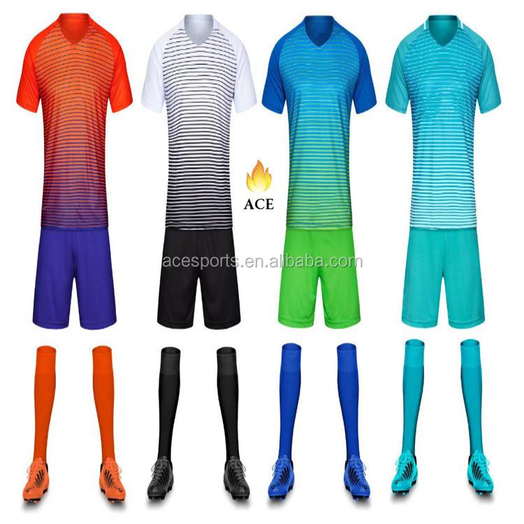 6100865be مخصص جديد تصميم ملابس رياضية لكرة القدم جيرسي رخيصة للبالغين المصنع ...