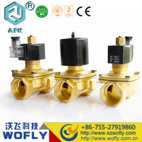 brass Diaphragm type direct acting 1 inch water solenoid valve