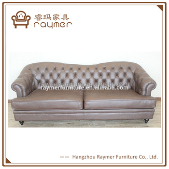 Modern Classic Vintage Euro French Tufted Leather Sofa Design Buy Simple Euro Modern Furniture