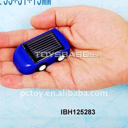 Plastic mini car solar powered toys