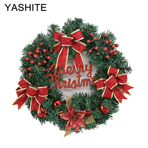 Christmas garland and ribbon fair trade christmas decorations