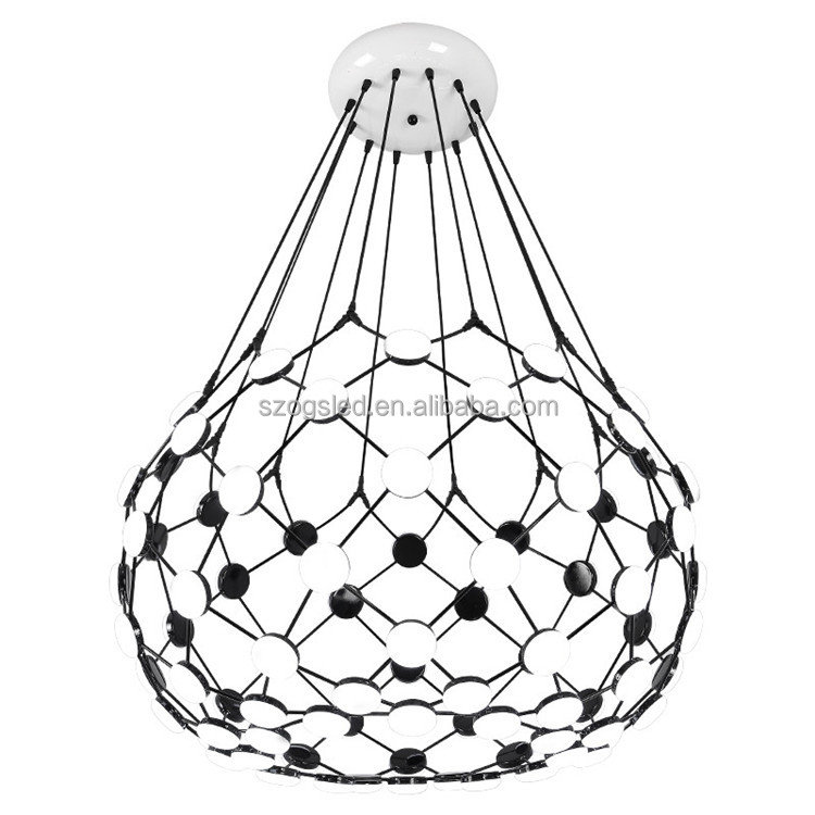 Italy design Nordic postmodern personality creative acrylic suspension pendant light