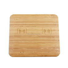 Wood/Bamboo QI Wireless Charger For Mobile Phone