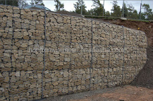 2x1x1 gabion box for sale/wire cages rock retaining wall alibaba china manufacturer Factory (china )