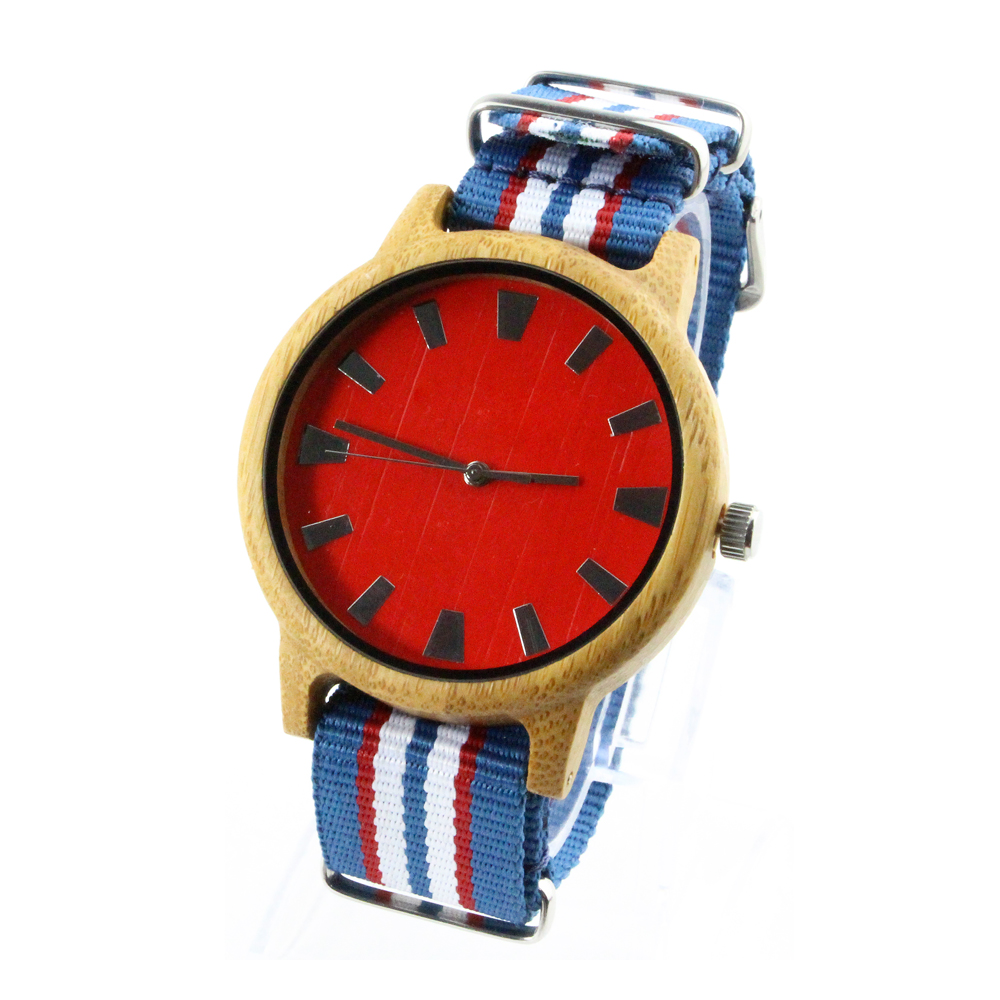 Nylon BandWood Fancy Stylish Beautiful Girls Hand Watches 2017 Sale Vintage Women Watches
