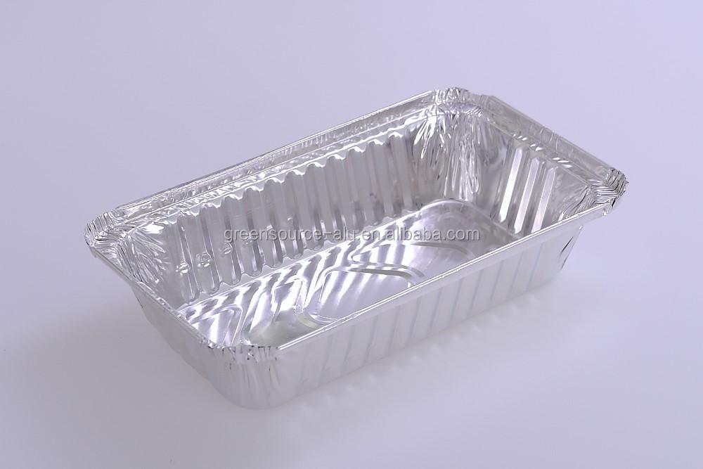 Jetable en aluminium feuille alimentaire bo te lunch for Maison container inconvenient