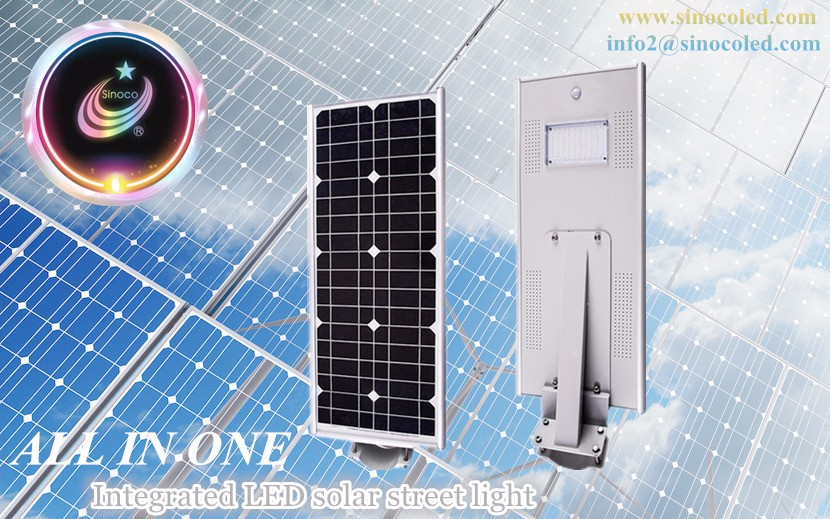 Energy Saving Outdoor Lamp 230w Solar Led Street Light