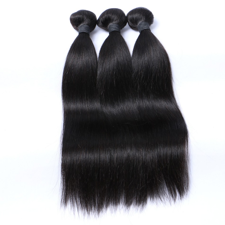 Hot sale high quality brazilian hair <strong>human</strong> straight weave wholesale hair bundle