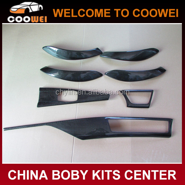 Top Quality Carbon Fiber Interior Dash Kit F30 LHD Dashboard Parts Sticker Interior Trim for BMW F30 Dashboard