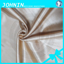 Hot sale direct factory made polyester satin textile available custom wholesale satin wedding chair cover fabric smooth satin
