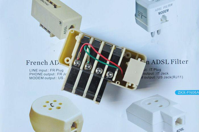 6 Pin French Telephone Rj45 To Rj11 Adapter 911325 - Buy Rj45 To Rj11  Adapter,Rj11 To Rj45 Telephone Modular Adapter,Universal Plug Adapter  Product on Alibaba.comAlibaba.com