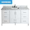 homedee 60 inch hot sale double sink bathroom vanity