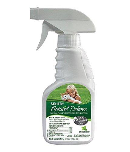 Sentry Natural Defense Flea & Tick Spray for Cats & Kittens