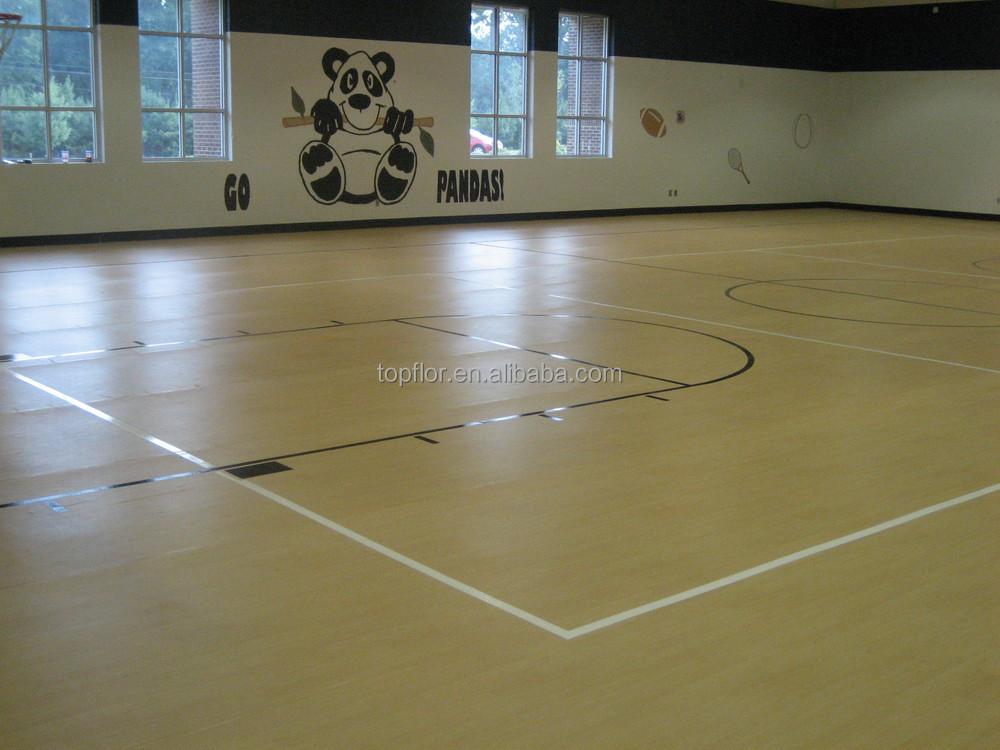 Topflor Flex Floor For Basketball Court Used Basketball