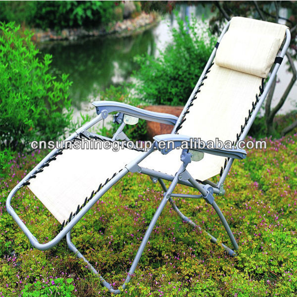 Folding pure colour stackable garden kid sling chair