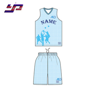 Free custom design wholesale blank sublimation printing basketball jersey for women
